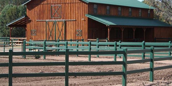 HDPE Farm Fencing PVC Vinyl Plastic