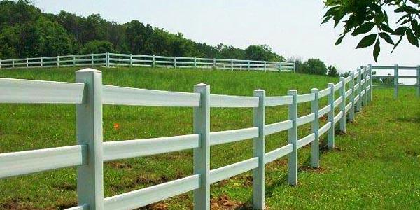 HDPE Livestock Fencing PVC Vinyl Plastic