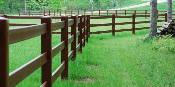 HDPE Ranch Fencing PVC Vinyl Plastic