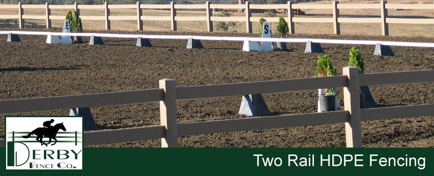 best 2 rail horse fence